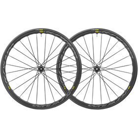 Mavic Ksyrium UST Disc CL 12x142mm Shimano/SRAM M-28 sort